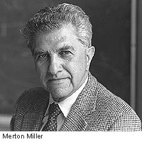 Merton Miller, 77, leaves legacy of corporate finance research