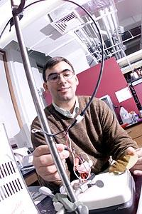 Microelectronics, biology meet in lab of chemistry professor