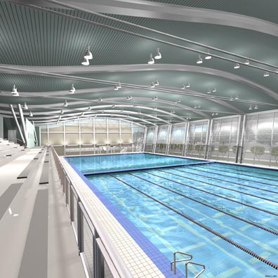 Architect pelli donor ratner join celebration for new - University of chicago swimming pool ...