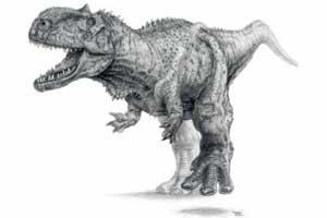 О находке индийскими и американскими учеными новой разновидности динозавров, принадлежащих к семейству хищников
