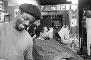 Barber Quincy : Side of Chicago barbershop is one of the establishments that Quincy ...