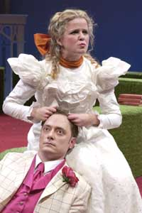 the issue of love in oscar wildes satire the importance of being earnest Oscar wilde's play the importance of being earnest helps both character and  audience alike to become self-aware through portrayal of a satirical attitude.